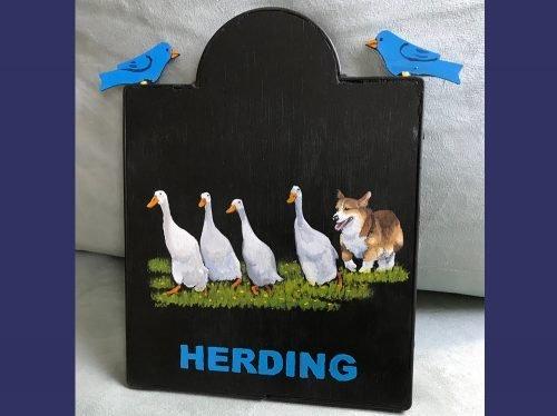 Herding Plaque