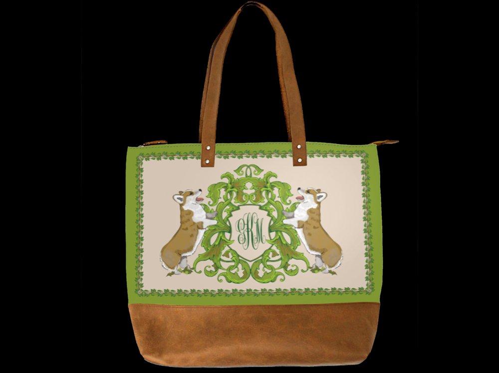 Monogrammed Handbag with initials