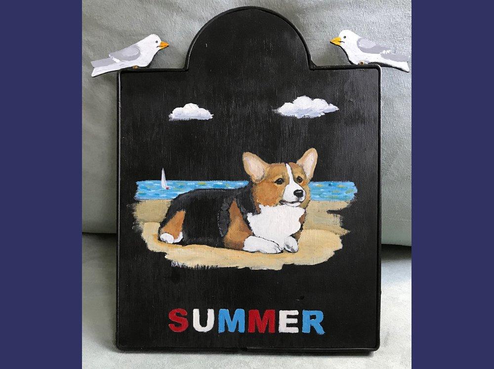 Summer Plaque